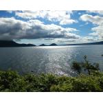おすすめ スポット 【支笏湖 丸駒温泉】 北海道の雄大な自然を眺める湖直結の秘湯露天風呂