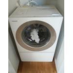 【ドラム式洗濯機で時短】 共働きの味方 おすすめ時短家電で快適生活☆パナソニックのキューブル NA-VG720Lの紹介